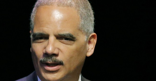 Eric Holder Sues Police Dept. for Treating Women as Equals