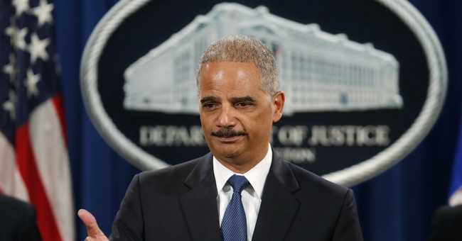 Eric Holder Ramps Up His Extortion Scheme