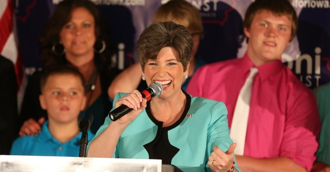 Oh My: Another Poll Shows Ernst Up By Six Points in Iowa