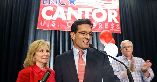 Cantor Spent $168,637 on Steak Houses, Brat Spent $122,793 on Entire Campaign