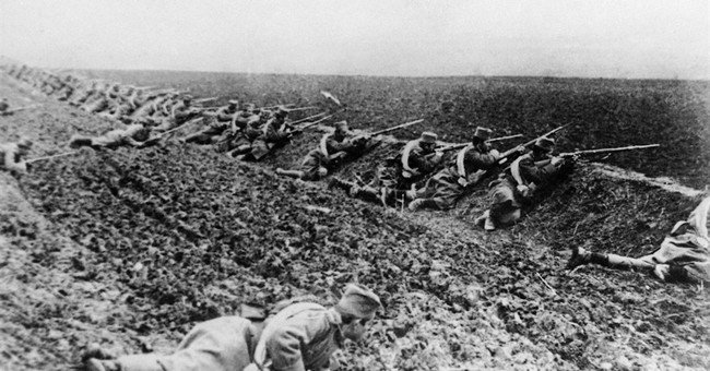 WWI and the Second Fall of Man