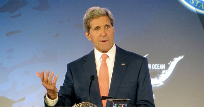 Excuse Me, What? John Kerry Holds Oceans Conference While Iraq is in Peril