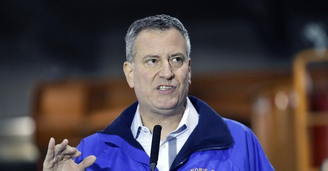 DeBlasio Punishes 1% in NYC Snow Storm