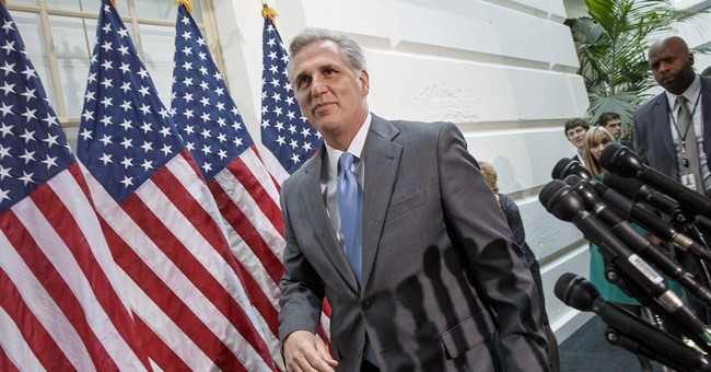 BREAKING: Kevin McCarthy Wins House Majority Leader Election; Tea Partier Scalise to Succeed Him as Whip