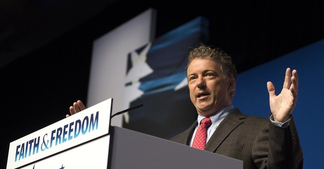 Rand Paul Makes His First Major Play for the Presidency
