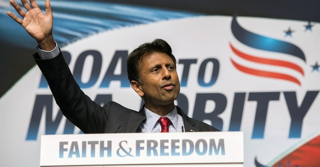 Bobby Jindal Leads the Saints in the Greatest Game Ever Played