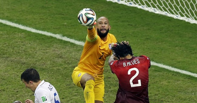 U.S. Soccer Goalkeeper Tim Howard Briefly Named Secretary of Defense--On Wikipedia