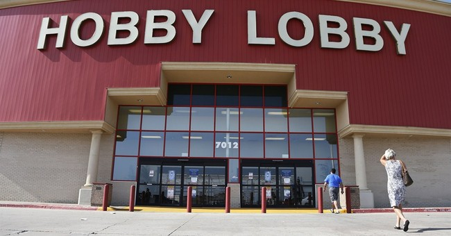 Senate Democrat Posts Infographic, Lies About Hobby Lobby Ruling