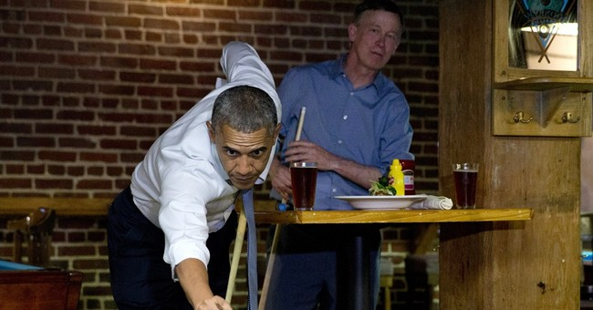 Pool Player in Chief Upsets Fellow Democrats