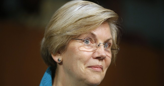 Elizabeth Warren Backs Corporate Welfare Bank