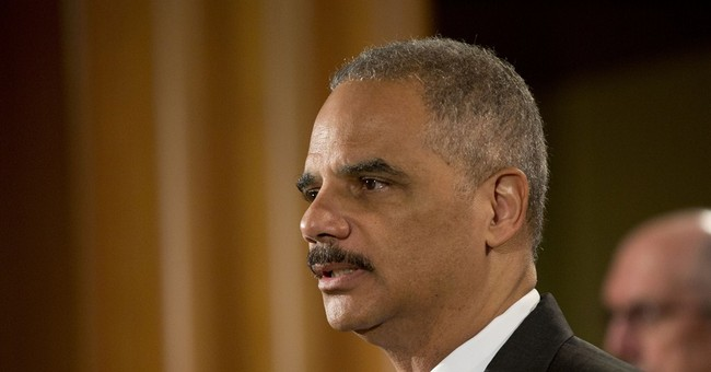 No, Mr. Holder, This Has Nothing to Do With Race