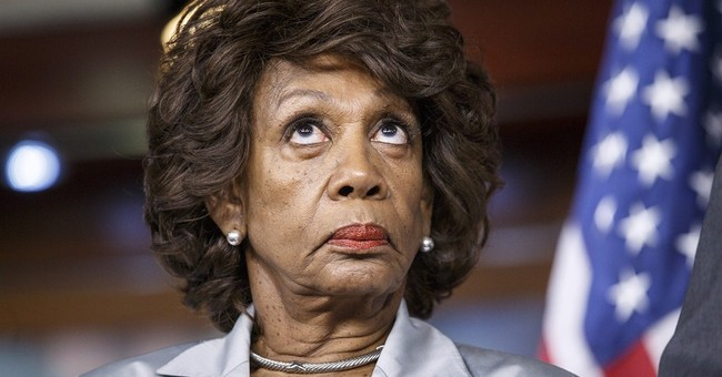 Maxine Waters Wants to Impeach Trump Because She Disagrees With Him, Or Something
