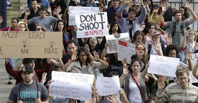 'Hands Up, Don't Shoot' Ranked One of 2015's Biggest Lies