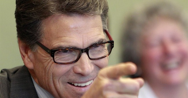 Mugshot Money: Gov. Rick Perry's PAC Selling 'Wanted' Shirts