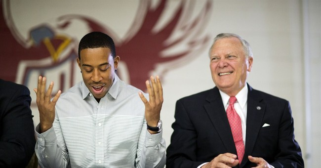 GOP Gov. Visits Charter School with Rapper Ludacris