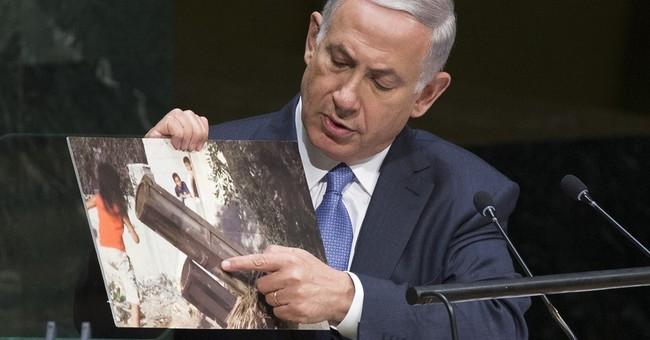 """Netanyahu: """"Hamas is ISIS; ISIS is Hamas"""""""