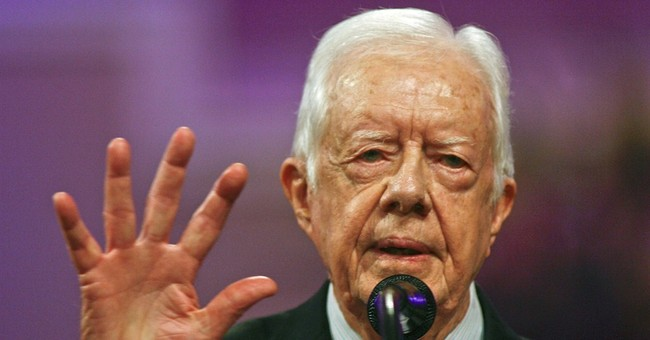 Jimmy Carter: The Paris Attacks Were Sort of About Israel, You Know