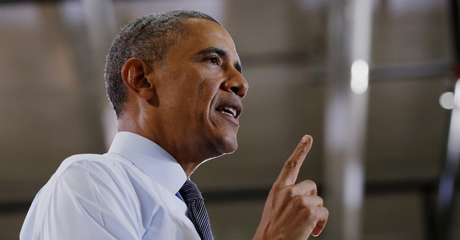 Obama's Making It Up As He Goes Along