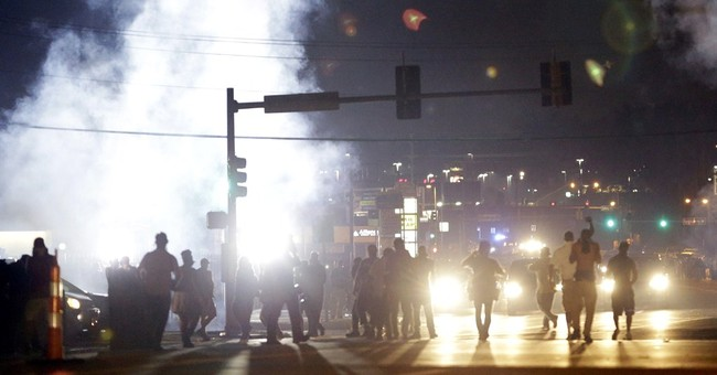 Meanwhile on the Streets of Ferguson...