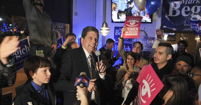 Mark Begich (Finally) Accepts Alaska Senate Defeat