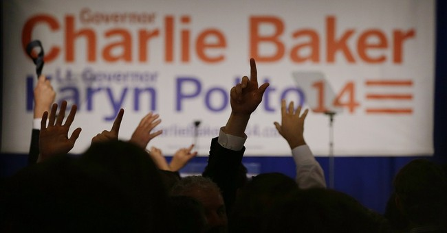Massachusetts Gov. Charlie Baker is on Team Tom Brady
