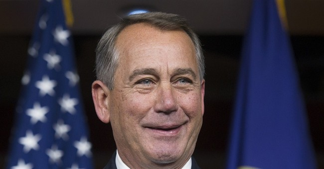 House Dems Have Boehner's Back