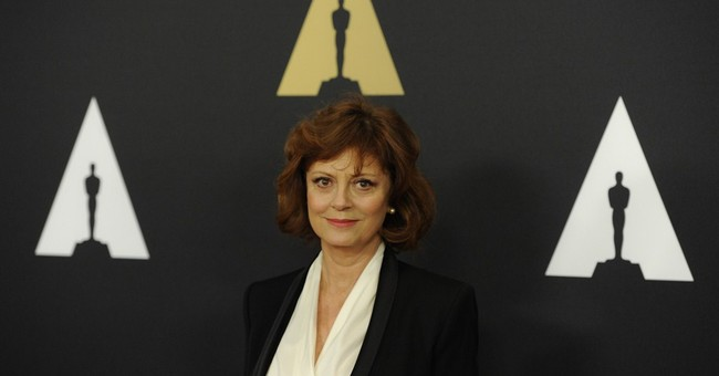 Susan Sarandon Has an Important Question for Biden, Harris, Warnock and Ossoff