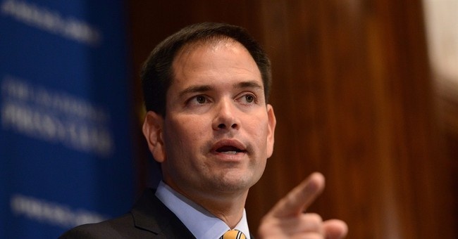 Audio: Marco Rubio Sure Sounding Like a Presidential Candidate