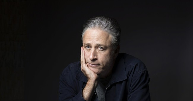 Bowing Before the Almighty Jon Stewart