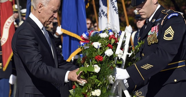 Biden: Veterans Are the 'Most Trusted and Most Tested of All Americans'