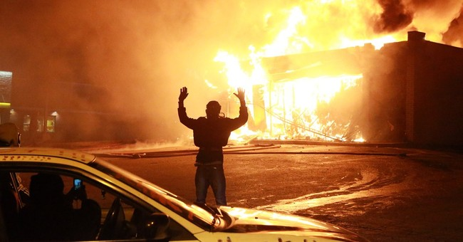 Stepdad of Michael Brown Incites Ferguson Riots: 'Burn This B*** Down!'