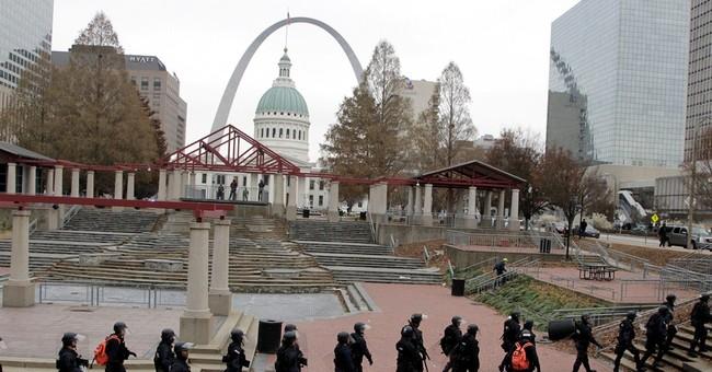Bizarro-World View of Self-Defense on Display in Ferguson