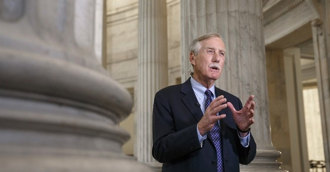 Angus King a Hard No On Assault Rifle Ban
