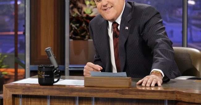 Study: Jay Leno Has Told Over 5,500 Jokes About the Clintons