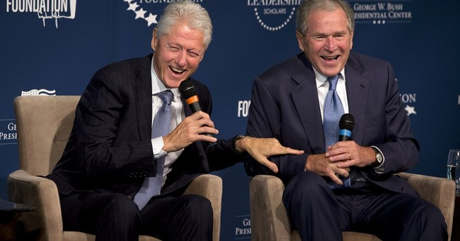Silver Linings: Dubya Would Not Hurt A Jeb Presidency