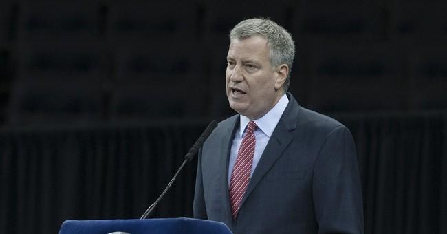 NYC Mayor De Blasio's NYPD Blahs