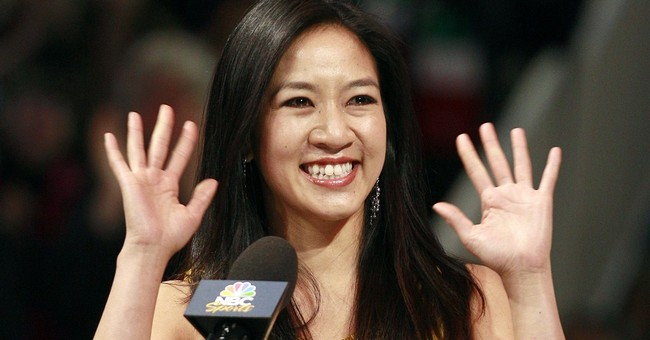 Michelle Kwan Joins Clinton Campaign Staff