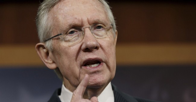 "Reid: Republicans Showing Signs of ""Sanity"" By Supporting Clean Debt Ceiling Hike"