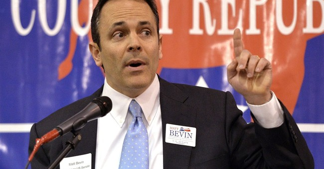 He's Back: Matt Bevin Launches Kentucky Gubernatorial Bid