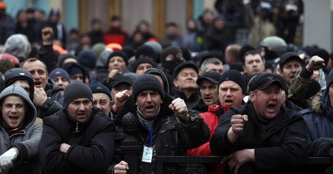 Ukrainian Protestors Take Control – The Beginning of a European Spring?