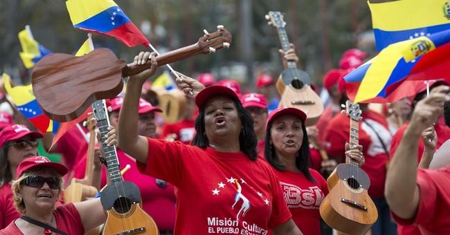Oliver Stone Does Venezuela