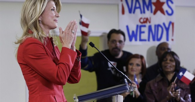 Awkward: Wendy Davis Slams Abbott for Gender Pay Gap, Paid Men Thousands More on Her Own Staff