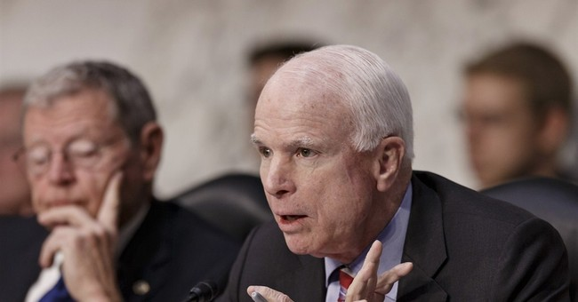 "McCain: That Poll Showing My Job Approval Rating at 30 Percent is ""Bogus"""