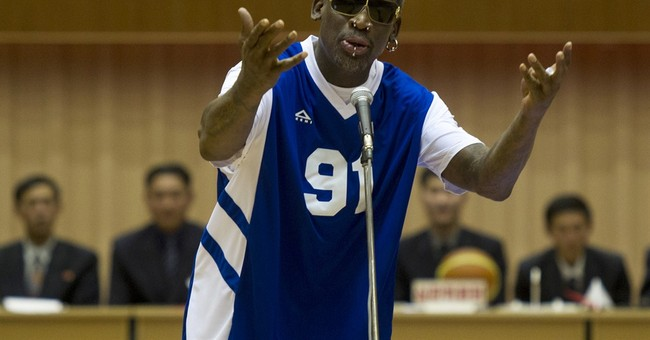 "VIDEO: ""Idiot"" Dennis Rodman Sings Happy Birthday to the ""Supreme Leader"""