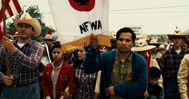 'Cesar Chavez' Film Promotes Organized Labor, Mocks Ronald Reagan