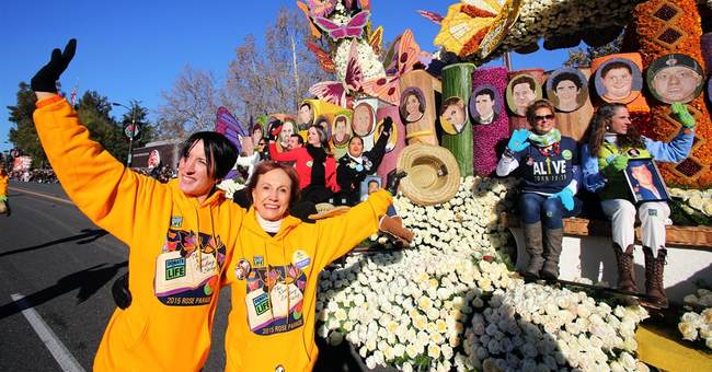 Cold snap across West chills Rose Parade