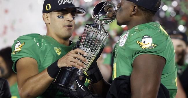 Rose Bowl rout! Oregon crushes Florida State 59-20