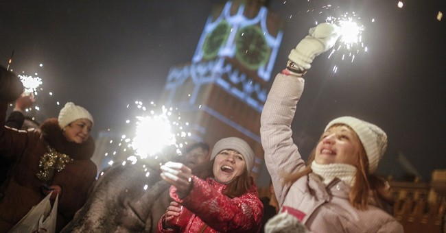 Russians optimistic for 2015 despite it all