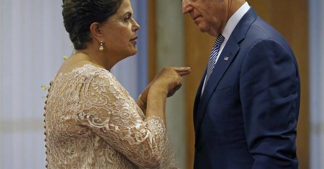 US Vice President Biden, Rousseff meet in Brazil