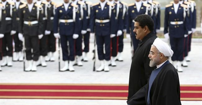 Oil price fall a top topic as Venezuelan president in Iran